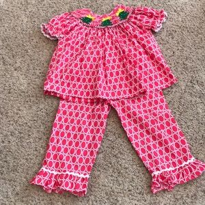 Other - 💗💗Christmas Smocked Two Piece